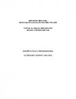Godisnji plan i program rada 2014-2015
