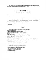 Pravilnik o prijemu i otpustu korisnika